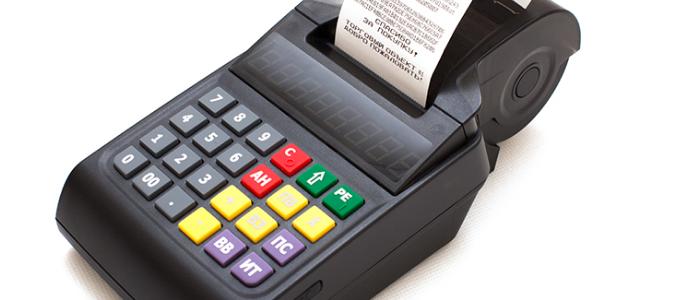 ККТ Ярус М2100Ф с ридером для приема банковских